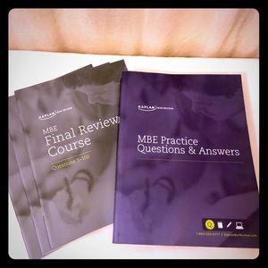 Kaplan Bar Exam MBE Review Books 4 Future Lawyers